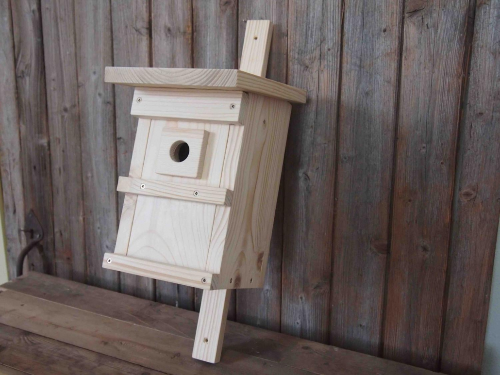 Vogelhaus aus Holz
